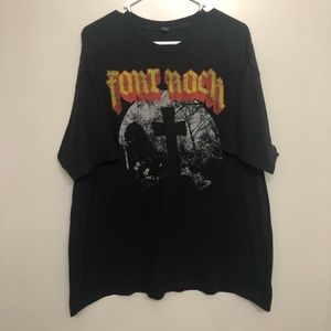 Fort Rock band t shirt black Ozzy osbourne 2018